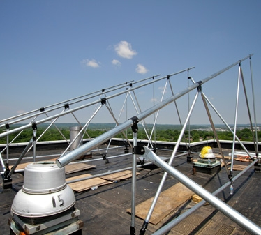 high strength galvanized tubing for large commercial solar array racking