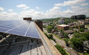Engineered Solar Racking For Commercial Roof Roofscreen Mfg