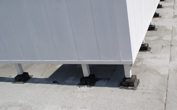 Commercial Roof Attachment System Roofscreen Mfg