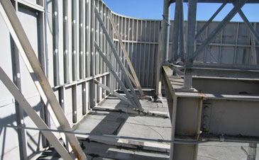 Equipment Screen System Roofscreen Mfg