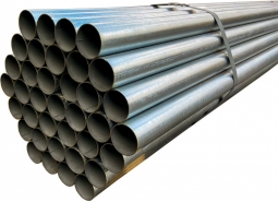 Steel galvanized tubes used for building equipment screens and other types of structures.