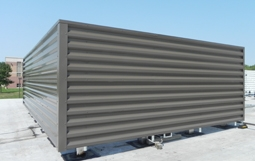 Metal Panels For Equipment Screens Roofscreen Mfg