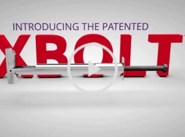 Image of XBolt blind anchor bolt for structural applications, video thumbnail.